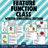 Feature, Function, Class - Winter/Christmas Theme