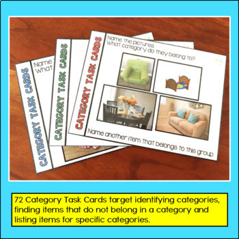 Feature/Function and Category Task Cards Bundle