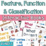 Feature, Function and Class Interactive Books BUNDLE