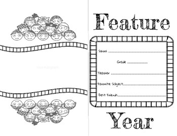 Feature Year Memory Book