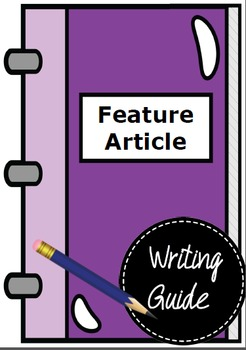 Feature article planning steps and structure