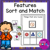 Features Sort and Match Activity Book