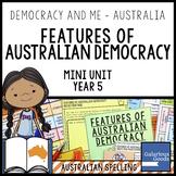 Australian Democracy Features (Year 5 HASS)