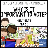Why is Voting Important? (Year 5 HASS)