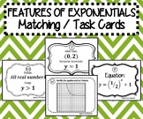 TASK CARDS / MATCHING ACTIVITY - Algebra - Features of Exp