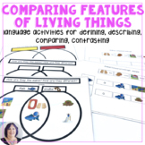 Comparing Features of Living Things Adapted Books for Auti