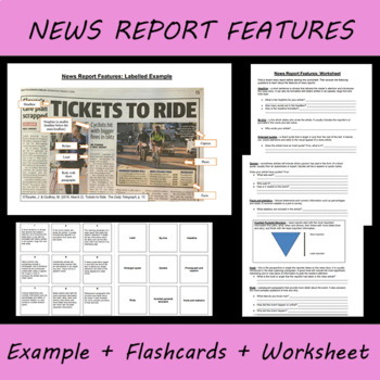 Features of Newspaper Article