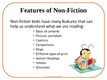 Features of Non-fiction Text Presentation and Cloze Notes