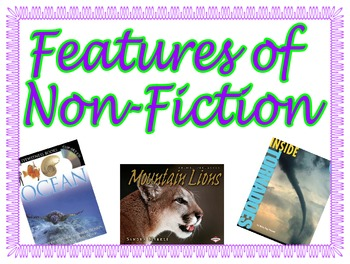 Features of Nonfiction