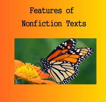 Nonfiction Text Features - SmartBoard