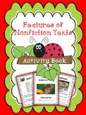 Nonfiction Text Features - Student Activity Book