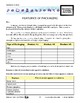 Features of Packaging Lesson Plan Grades 4-6 - Aligned to Common Core
