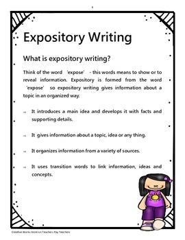 Features of Writing Posters
