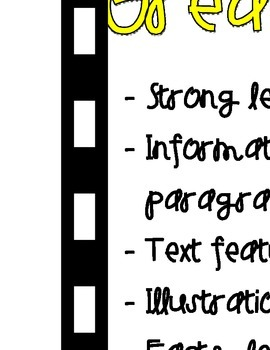 Features of a Great Description Anchor Chart