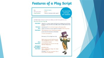 Features of a Script