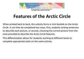 Features of the Arctic Circle