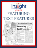 Featuring Text Features Nonfiction Newsletter Reading Selection & Questions