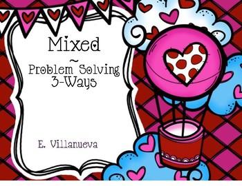 Feb. Math Problem Solving Scoot