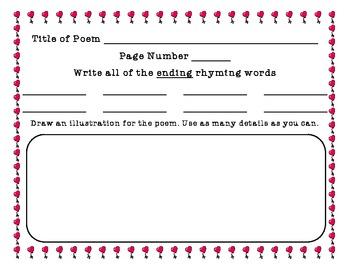 Feb. Poetry weekend homework