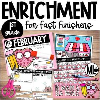 February Enrichment/Early Finishers*First Grade*