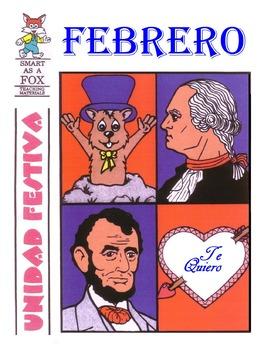 Febrero Holiday Unit BOOK in Spanish