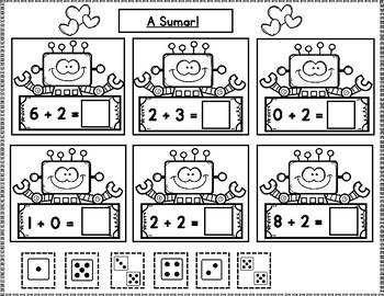 Febrero:  Matematicas para Kindergarten