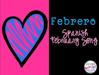 Febrero Spanish February Song {Canción en español}