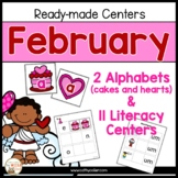 February: 11 Ready-made Reading Centers