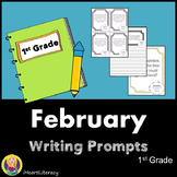 Writing Prompts February 1st Grade Common Core