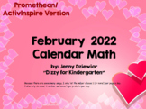 February 2021 Calendar Math for the Promethean Board (ActivBoard)