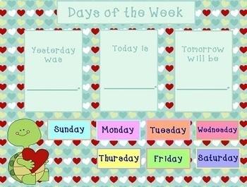 February 2018 Activboard Calendar Activities