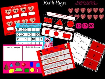February First Grade Calendar for ActivBoard