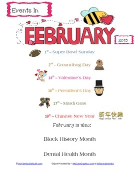 February 2015 Events