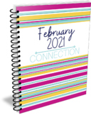 February 2021 Self-Print Teacher Wellness Monthly Planner