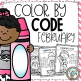 Color by Code Kindergarten | Winter Coloring Pages