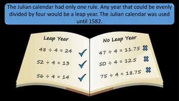 Leap Year PowerPoint Presentation