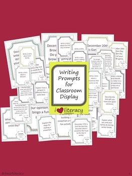 Writing Prompts February 2nd Grade Common Core