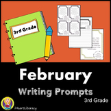 Writing Prompts February 3rd Grade Common Core