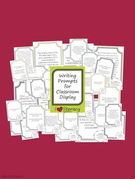 Writing Prompts February 5th Grade Common Core