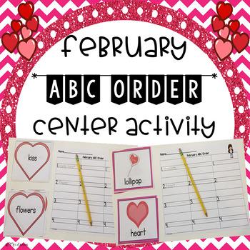 February ABC Order Center