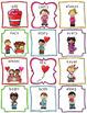 February ABC Order Literacy Center & Worksheets (Valentine's Day)