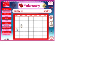 February Active Board Calendar