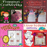 Valentines Day Activities and Crafts: Bundle
