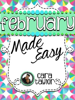 February Activities ~ Math, Literacy and Writing Made Easy!