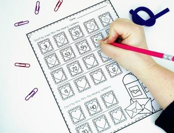February Worksheets: No Prep Pack for Kindergarten