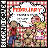 February Activity Book All About Today and More Skills  Se