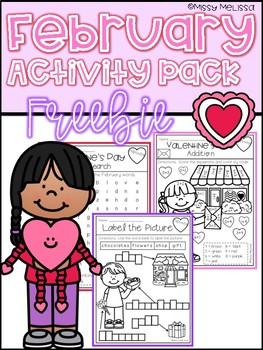 February Activity Pack FREEBIE