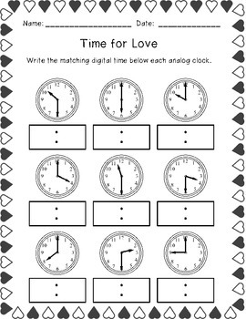 February Activity Pack (First Grade)