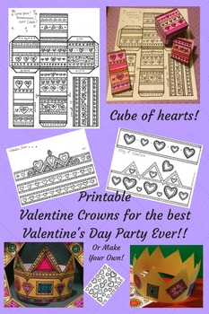 February Activity Pack! Writing Prompts, Valentine Art, Wordsearch MORE!!