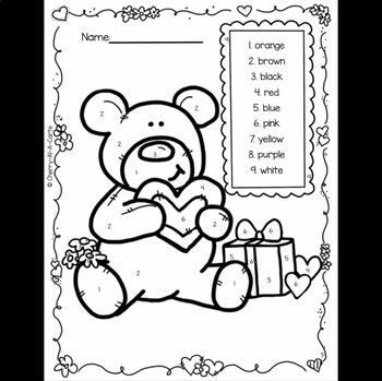 February Activity Pages with British English Spelling